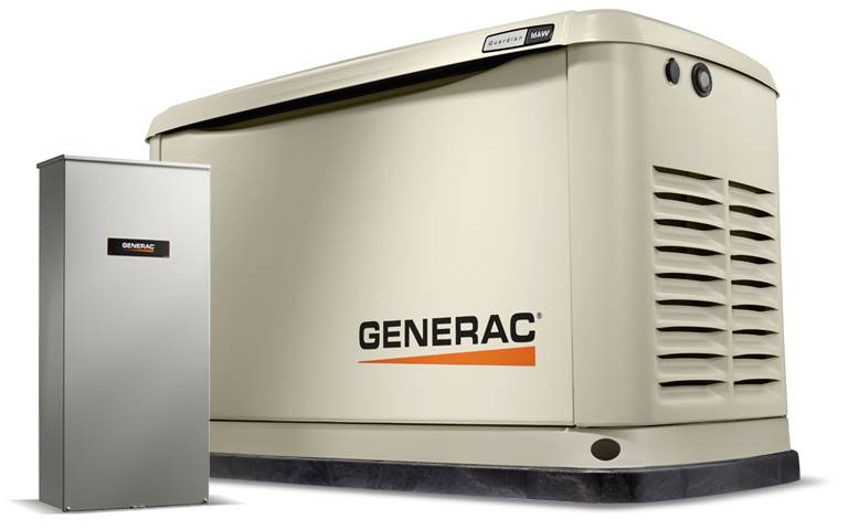 Generac Guardian 16kW Home Backup Generator with 16-circuit Transfer Switch WiFi-Enabled in Jacksonville, Florida - Photo 2