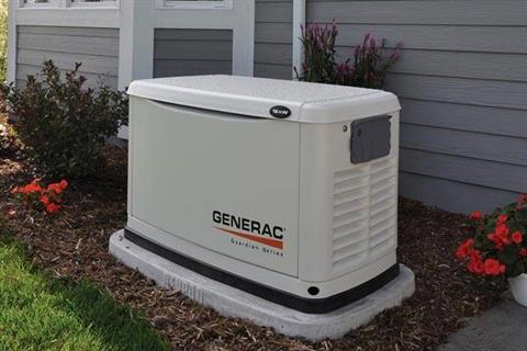 2019 Generac Guardian 16kW Home Backup Generator with 16-circuit Transfer Switch WiFi-Enabled in Jacksonville, Florida