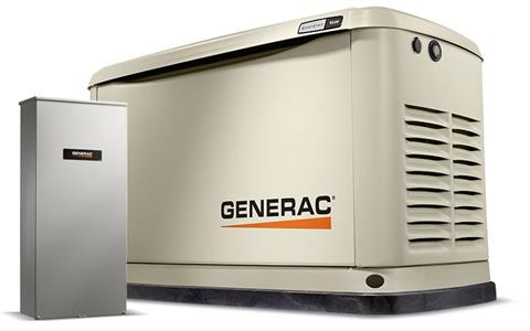 Generac Guardian 9kW Home Backup Generator with 16-circuit Transfer Switch WiFi-Enabled in Jacksonville, Florida