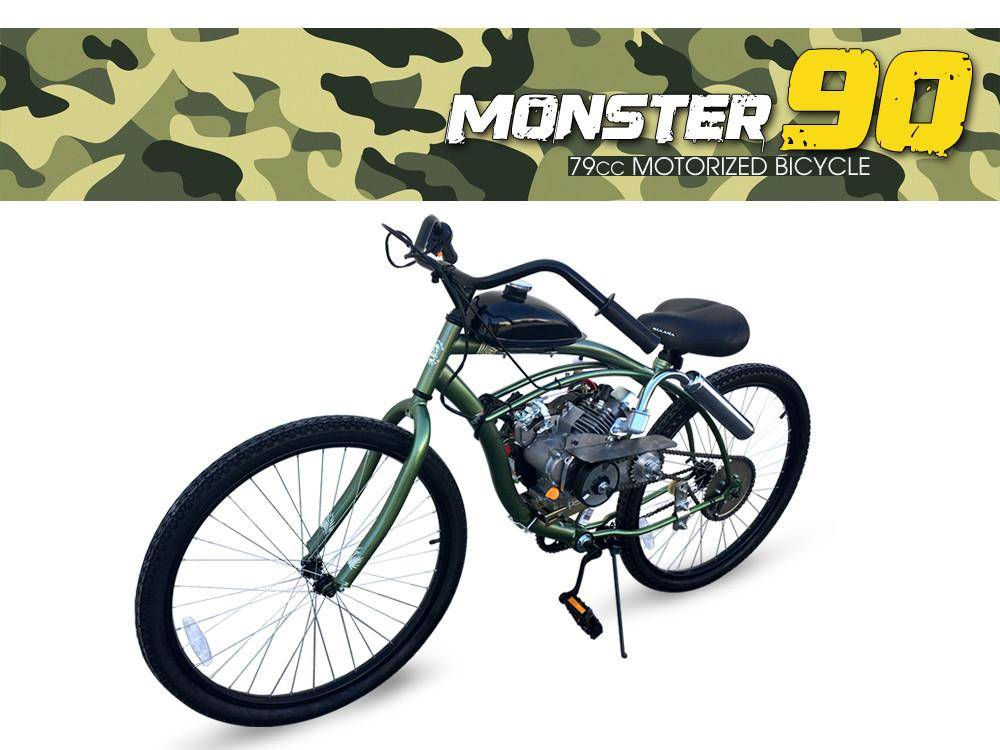 2019 Gas Bike Monster 79cc Motorized Bicycle in Jacksonville, Florida - Photo 1