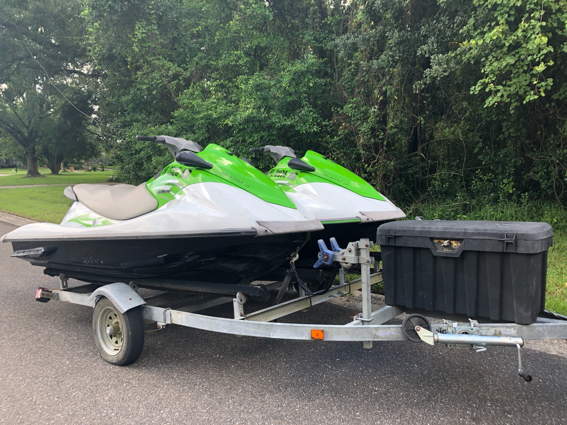 2016 Yamaha PAIR VX SKIES WITH TRAILER in Jacksonville, Florida - Photo 1