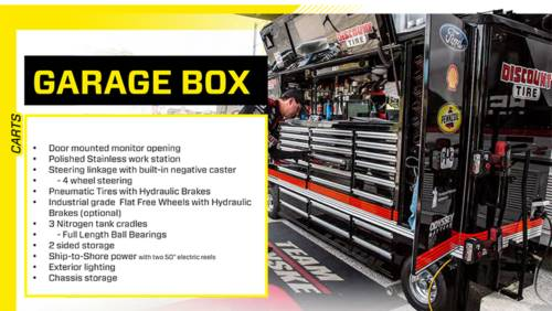 jaguar Powersports New Premier Toolbox 10 Foot PIT BOX NASCAR Rolling Portable Racing Toolbox in Jacksonville, Florida - Photo 2