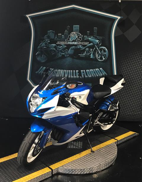 2013 Suzuki GSX-R600™ in Jacksonville, Florida - Photo 1