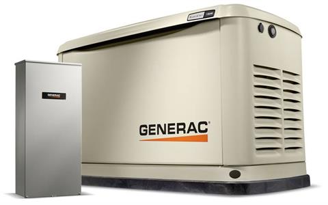 2019 Generac Guardian 11kW Home Backup Generator with Whole House Switch WiFi-Enabled in Jacksonville, Florida