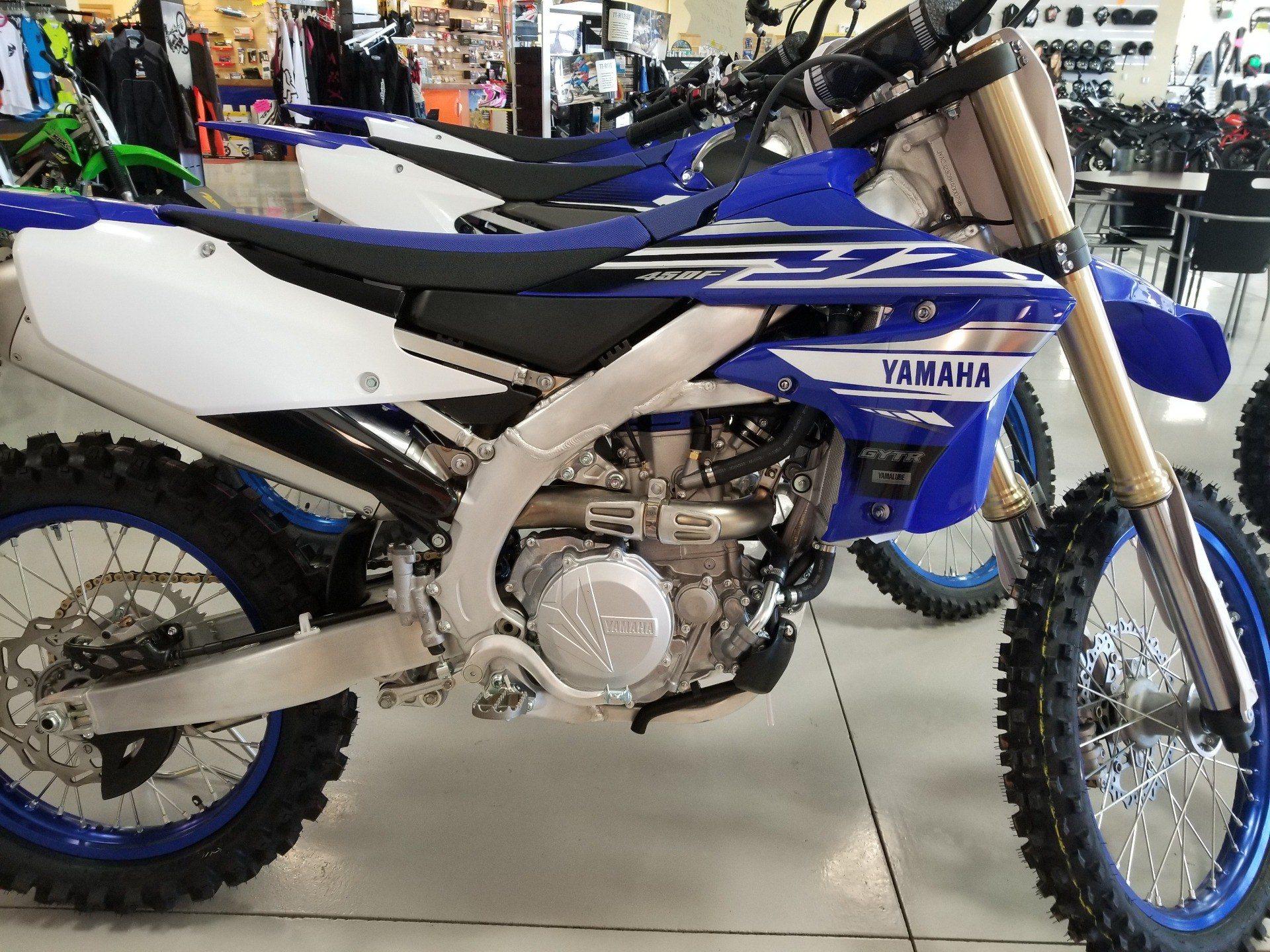 New 2019 yamaha yz450f motorcycles in moses lake wa for Yamaha credit card phone number