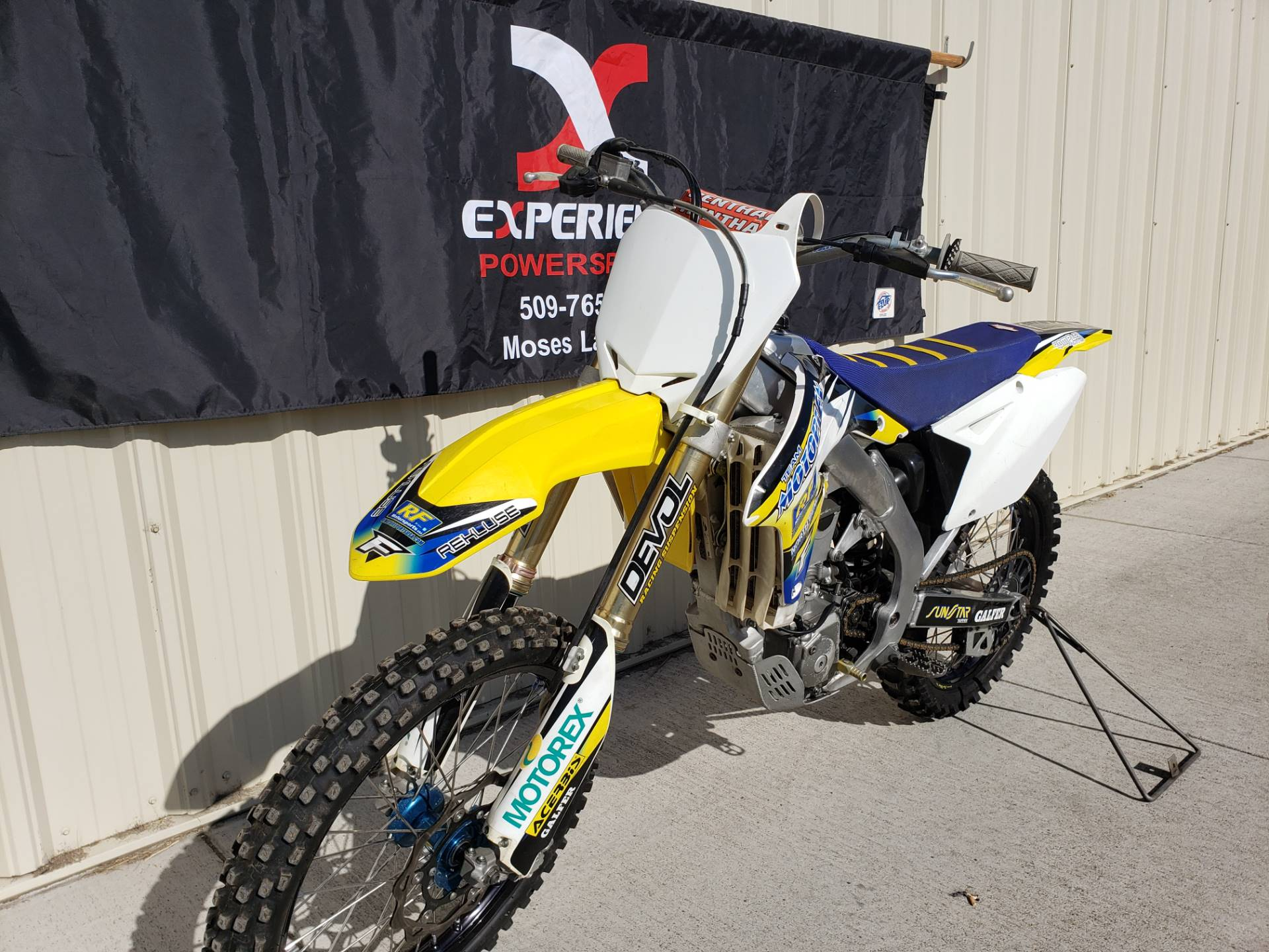 2011 Suzuki RM-Z450 in Moses Lake, Washington