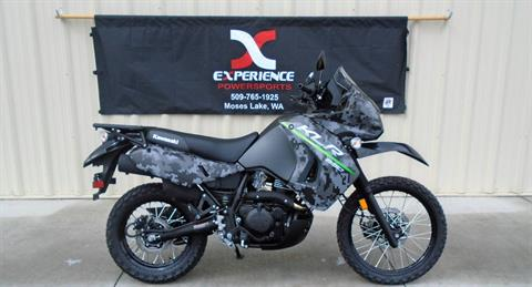 2017 Kawasaki KLR650 in Moses Lake, Washington