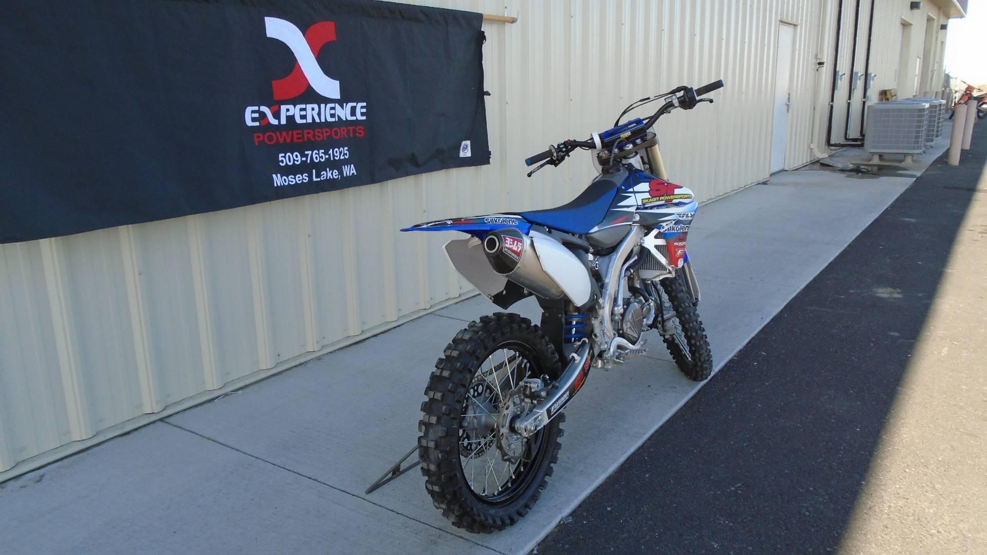 2012 Yamaha YZ450F in Moses Lake, Washington