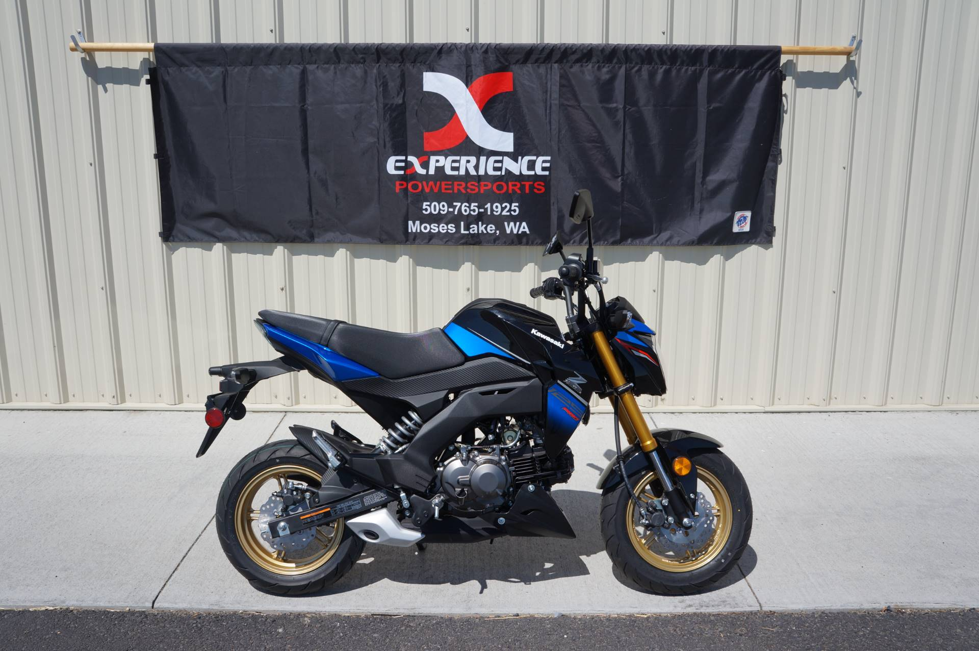2018 Kawasaki Z125 Pro SE in Moses Lake, Washington