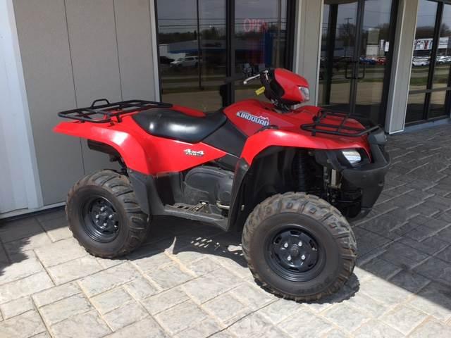 2013 Suzuki KingQuad® 750AXi in Marietta, Ohio