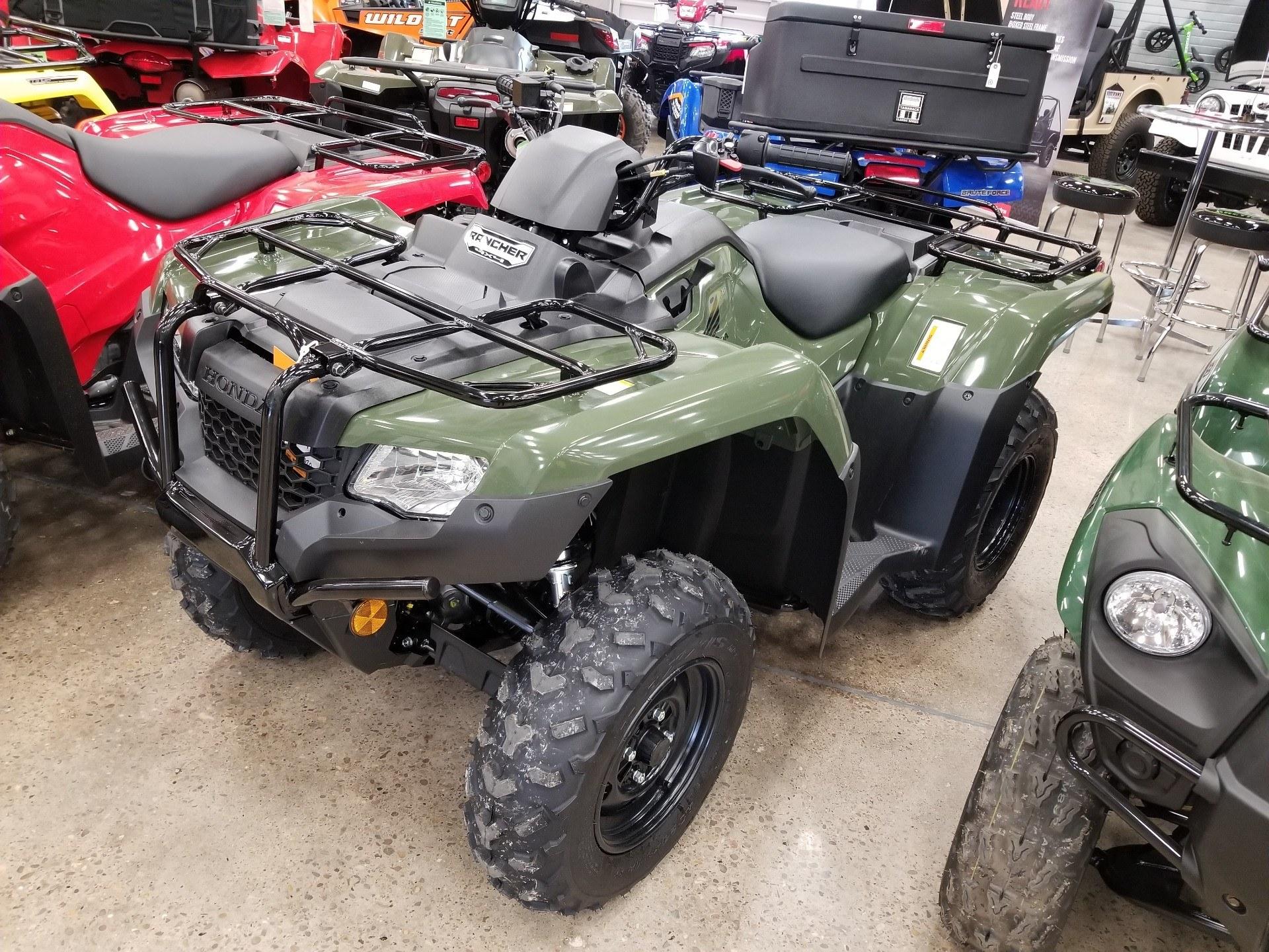 2019 Honda FourTrax Rancher 4x4 1