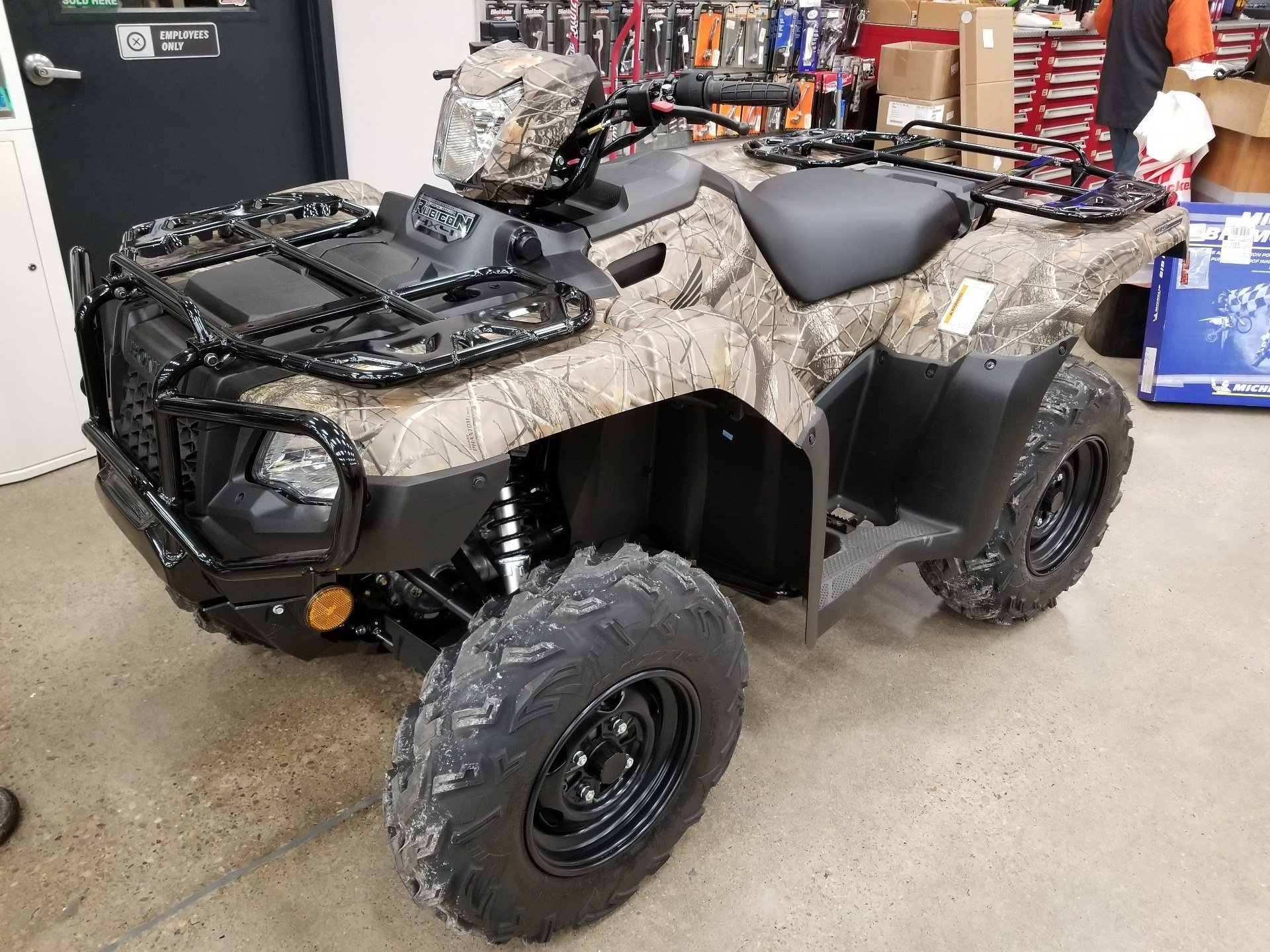 2019 Honda FourTrax Foreman Rubicon 4x4 EPS in Marietta, Ohio - Photo 1
