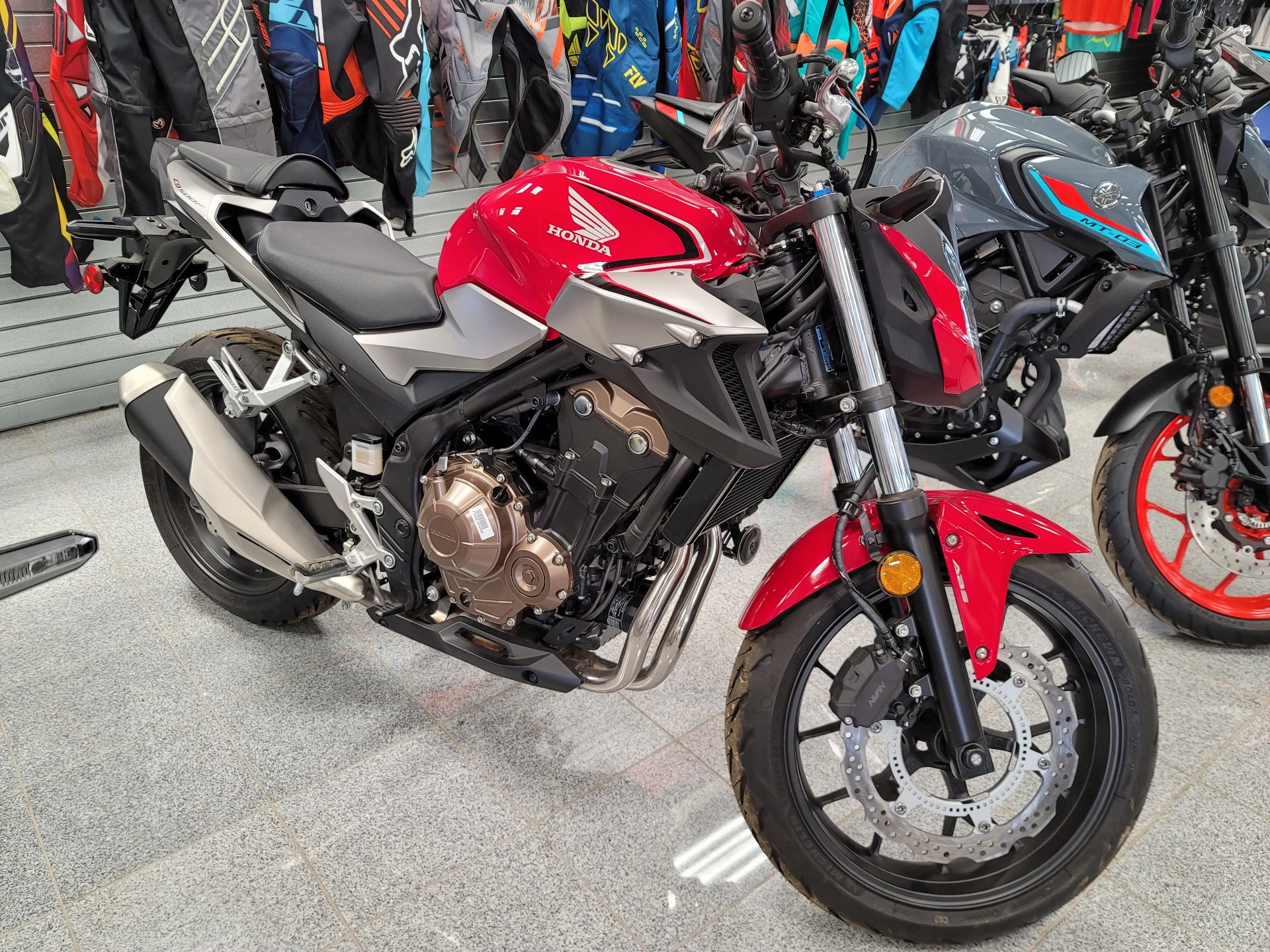 2019 Honda CB500F ABS in Marietta, Ohio - Photo 1