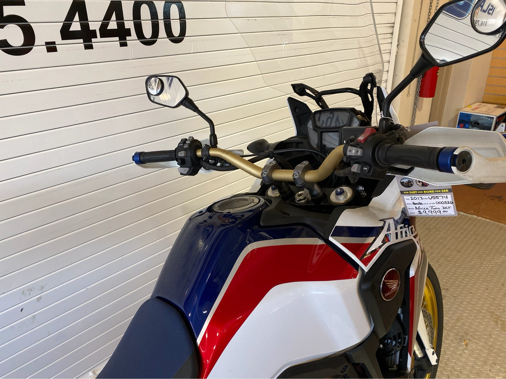 2017 Honda Africa Twin DCT in Massapequa, New York - Photo 9