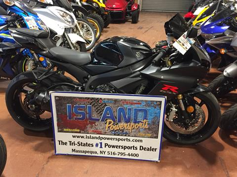2016 Suzuki GSX-R750 in Massapequa, New York