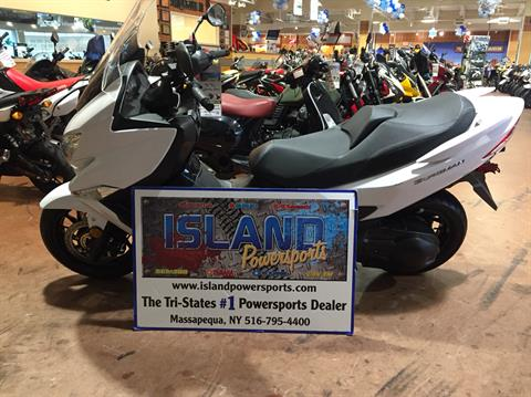 2018 Suzuki Burgman 400 ABS in Massapequa, New York