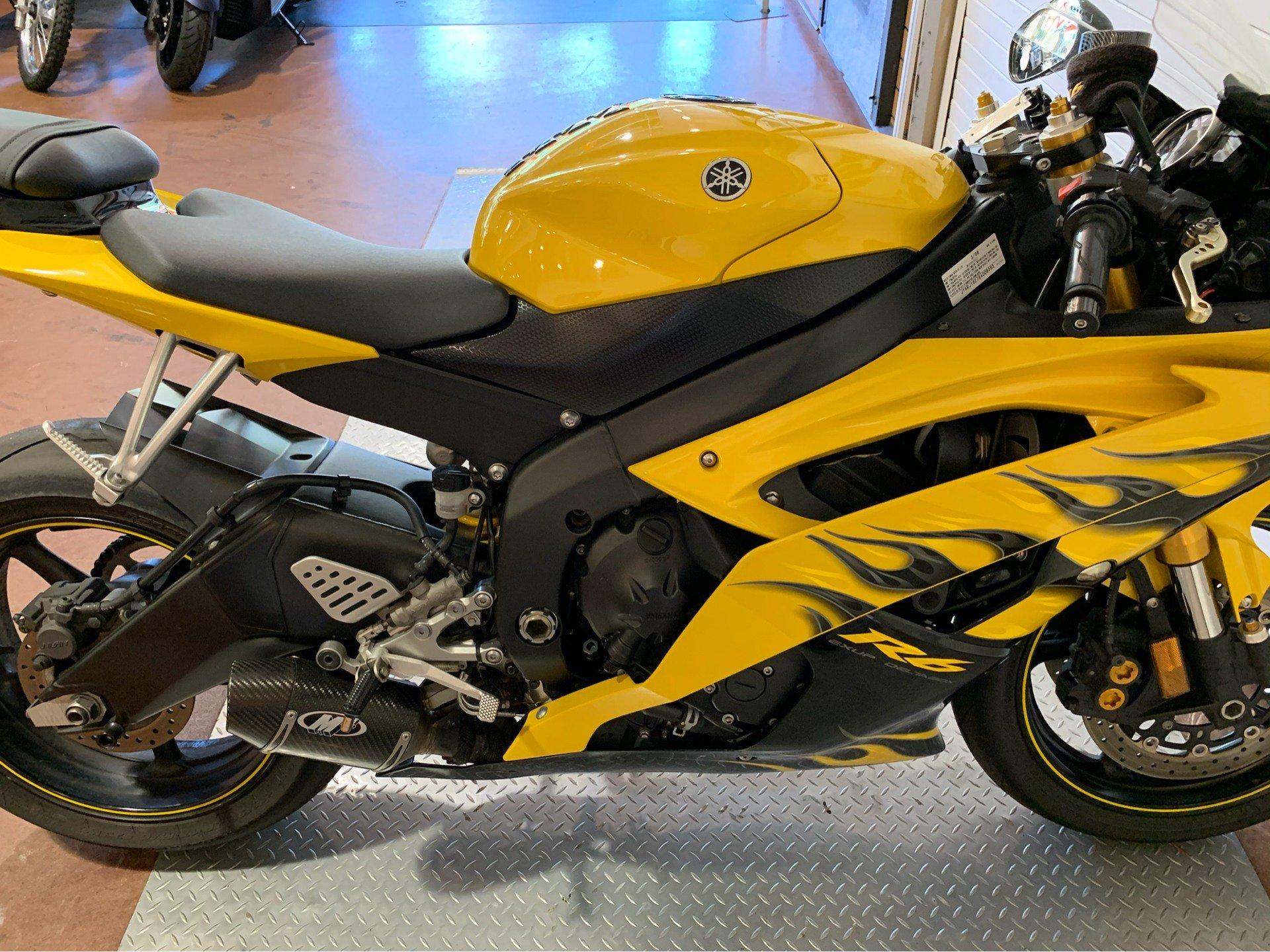 2008 Yamaha YZFR6 11