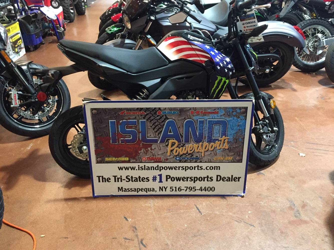2018 Kawasaki Z125 Pro in Massapequa, New York