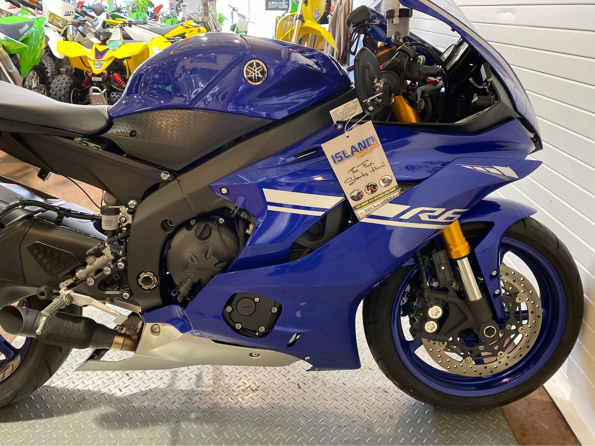 2017 Yamaha YZF-R6 11