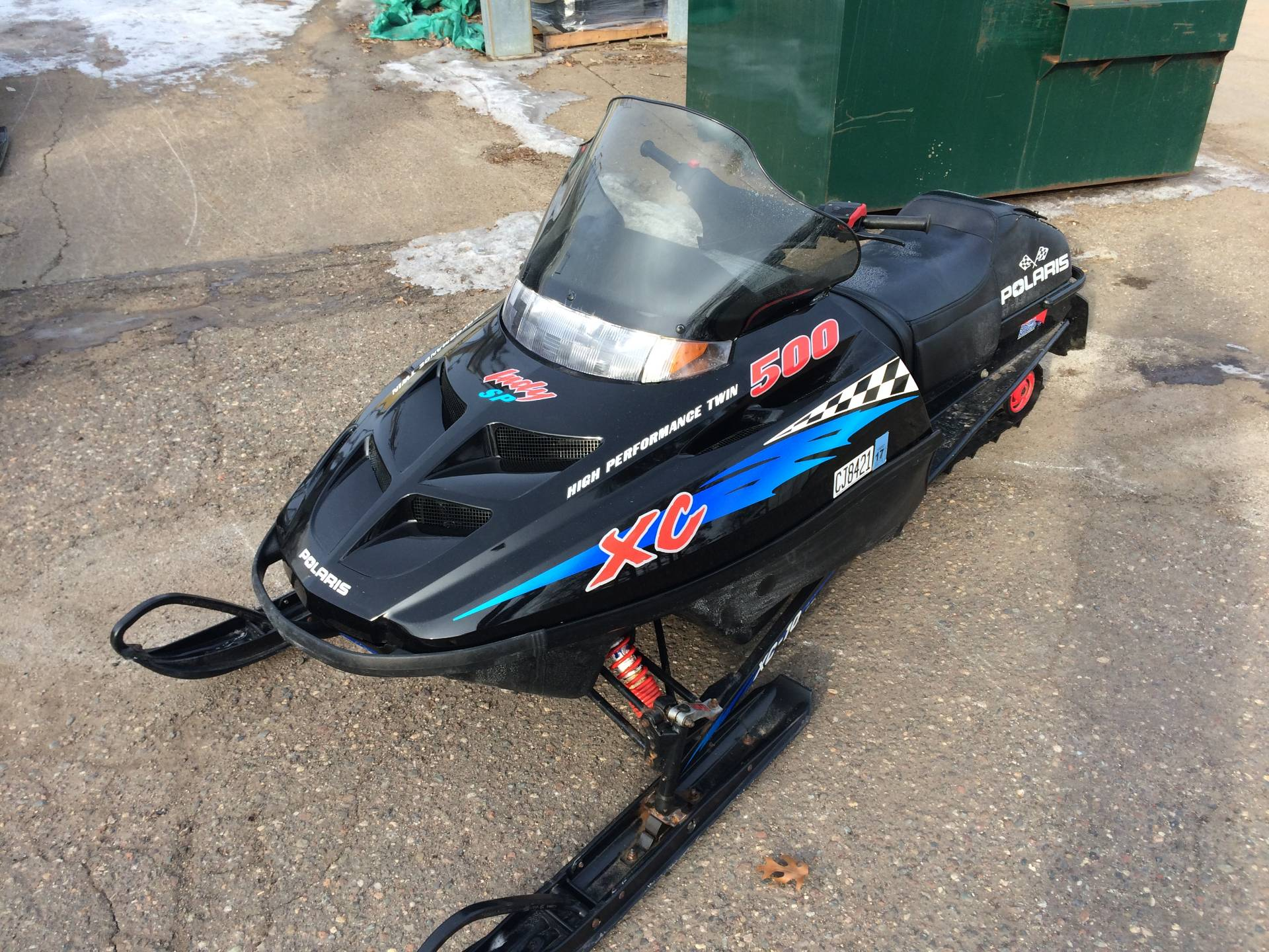 1999 Polaris Indy 500XC SP in Fridley, Minnesota