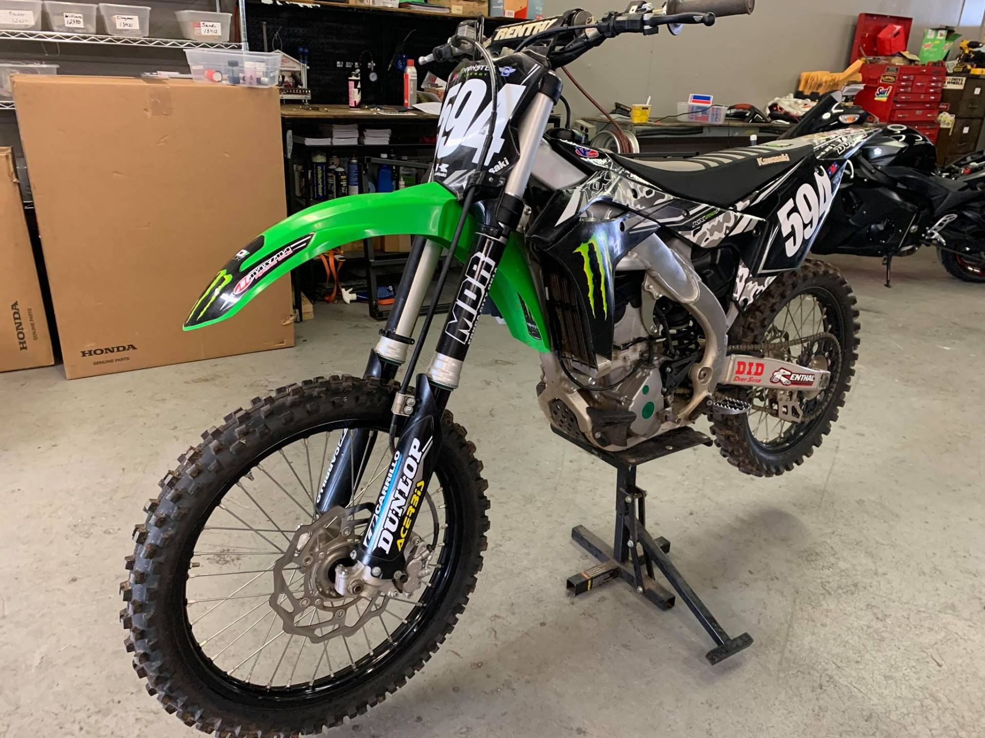 2018 Kawasaki KX 250F in Del City, Oklahoma - Photo 2