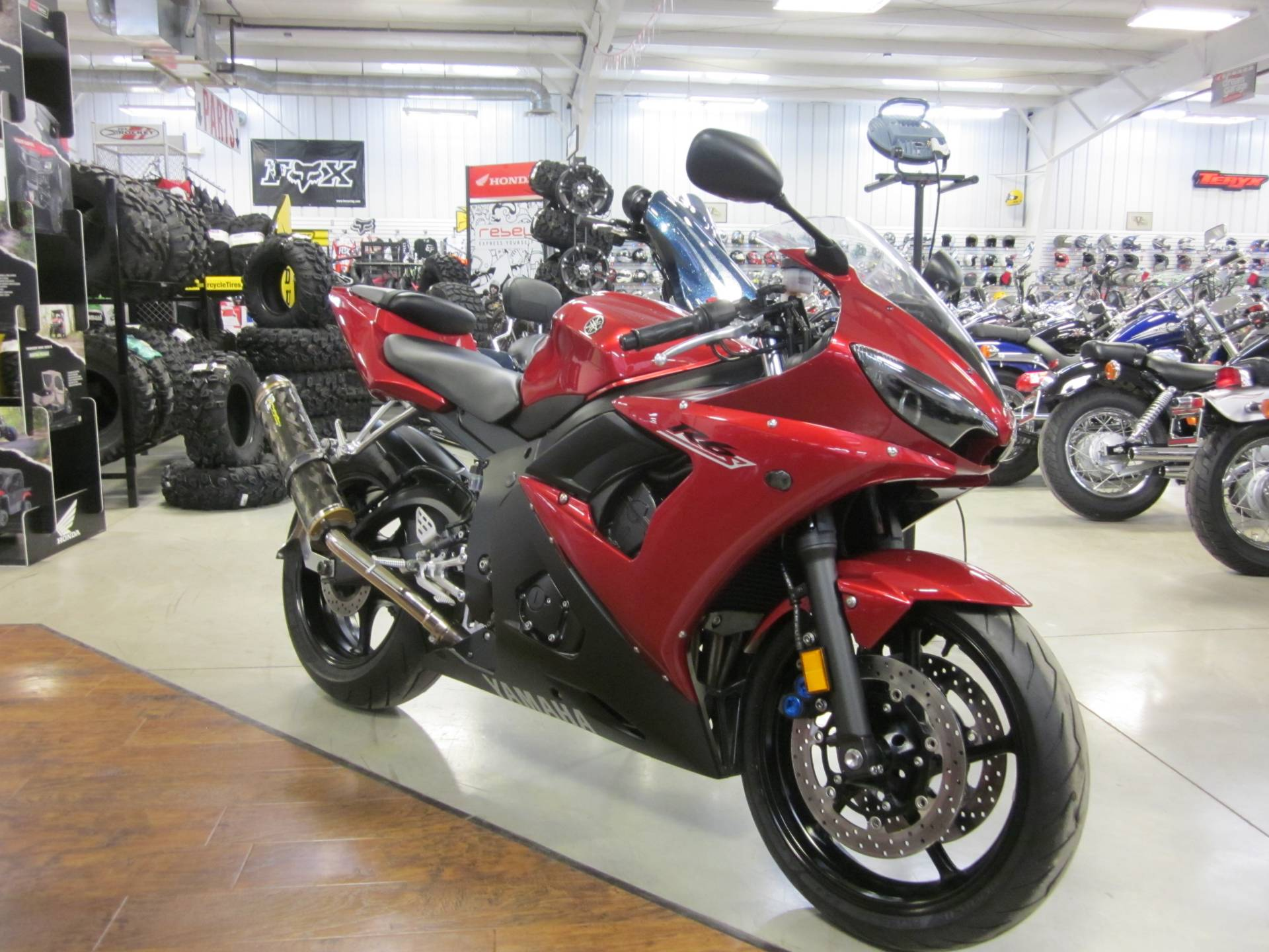 2007 Yamaha YZF-R6S for sale 103134