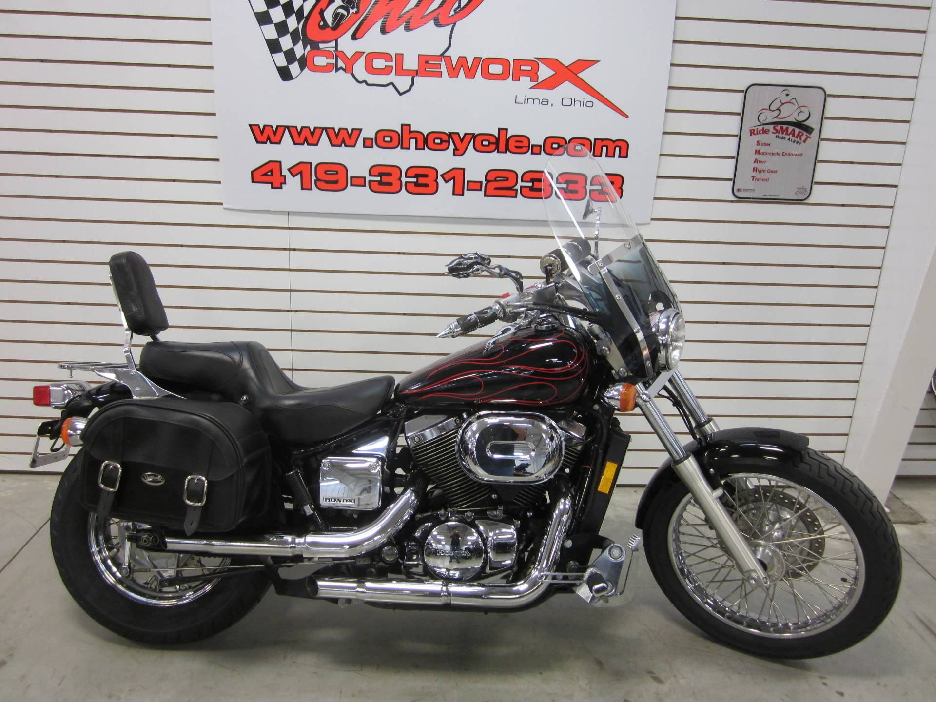 2007 Honda Spirit 750 in Lima, Ohio - Photo 2