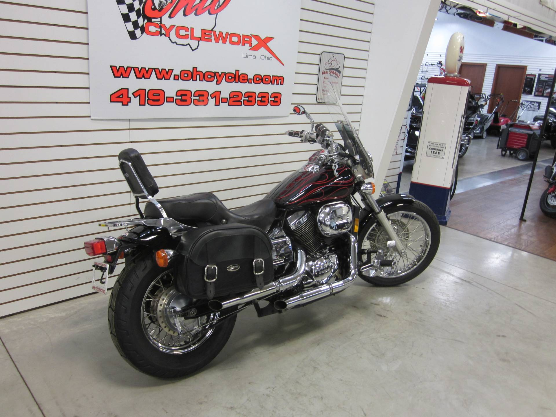 2007 Honda Spirit 750 in Lima, Ohio