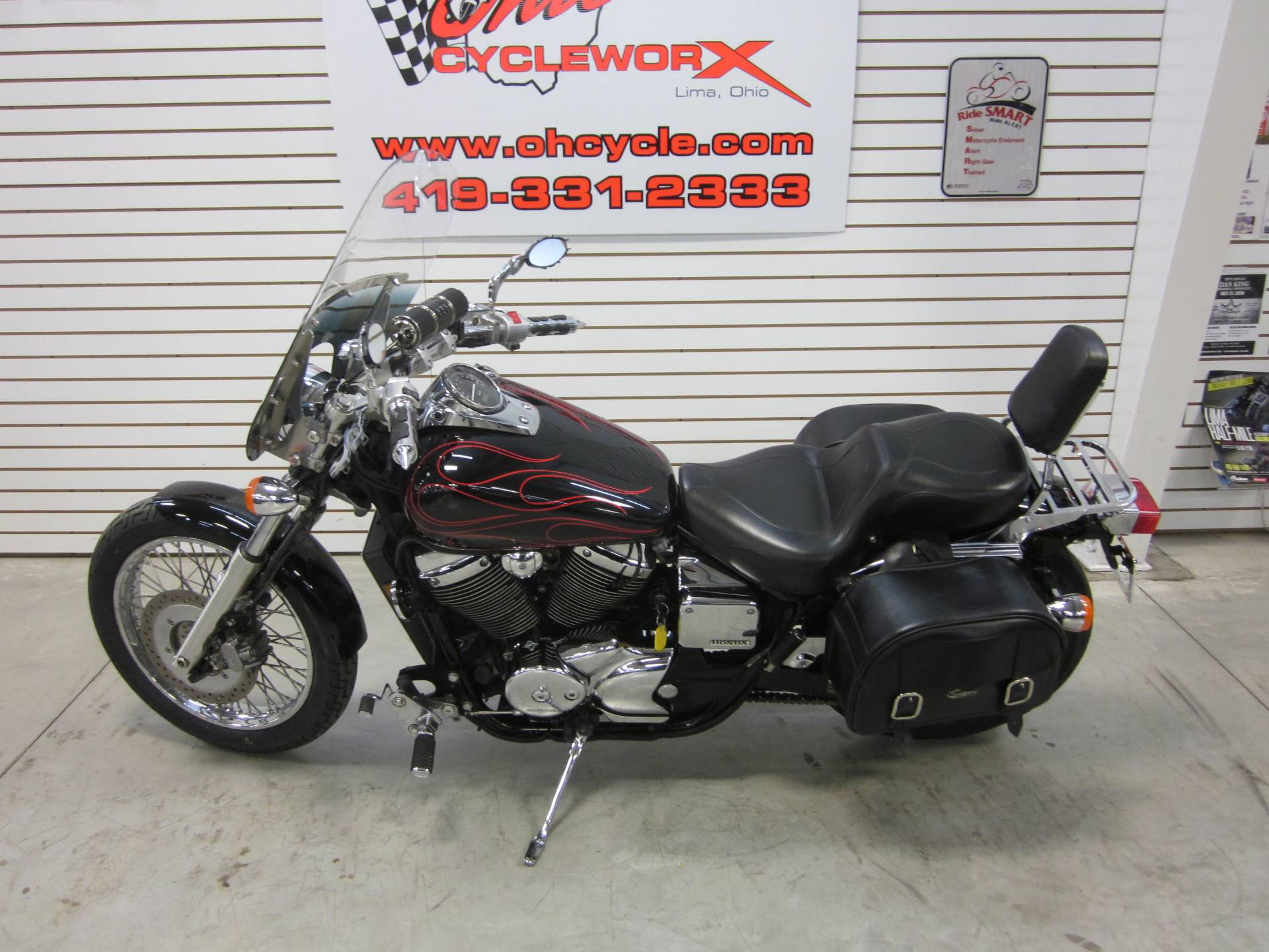 2007 Honda Spirit 750 in Lima, Ohio - Photo 12