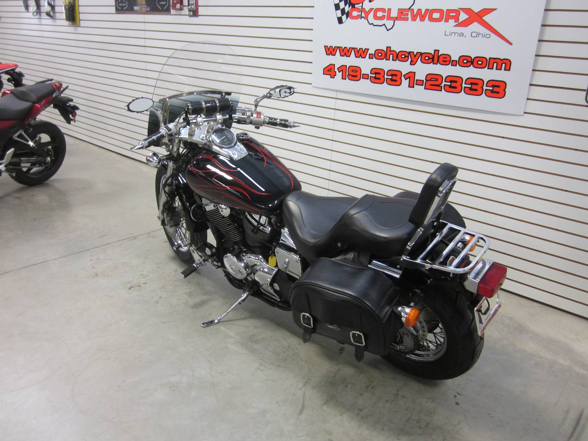 2007 Honda Spirit 750 in Lima, Ohio - Photo 13