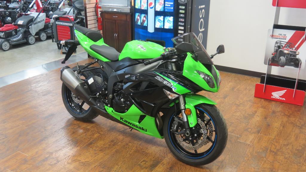 used 2012 kawasaki ninja zx 6r motorcycles in lima oh stock number 033471 dealer url. Black Bedroom Furniture Sets. Home Design Ideas