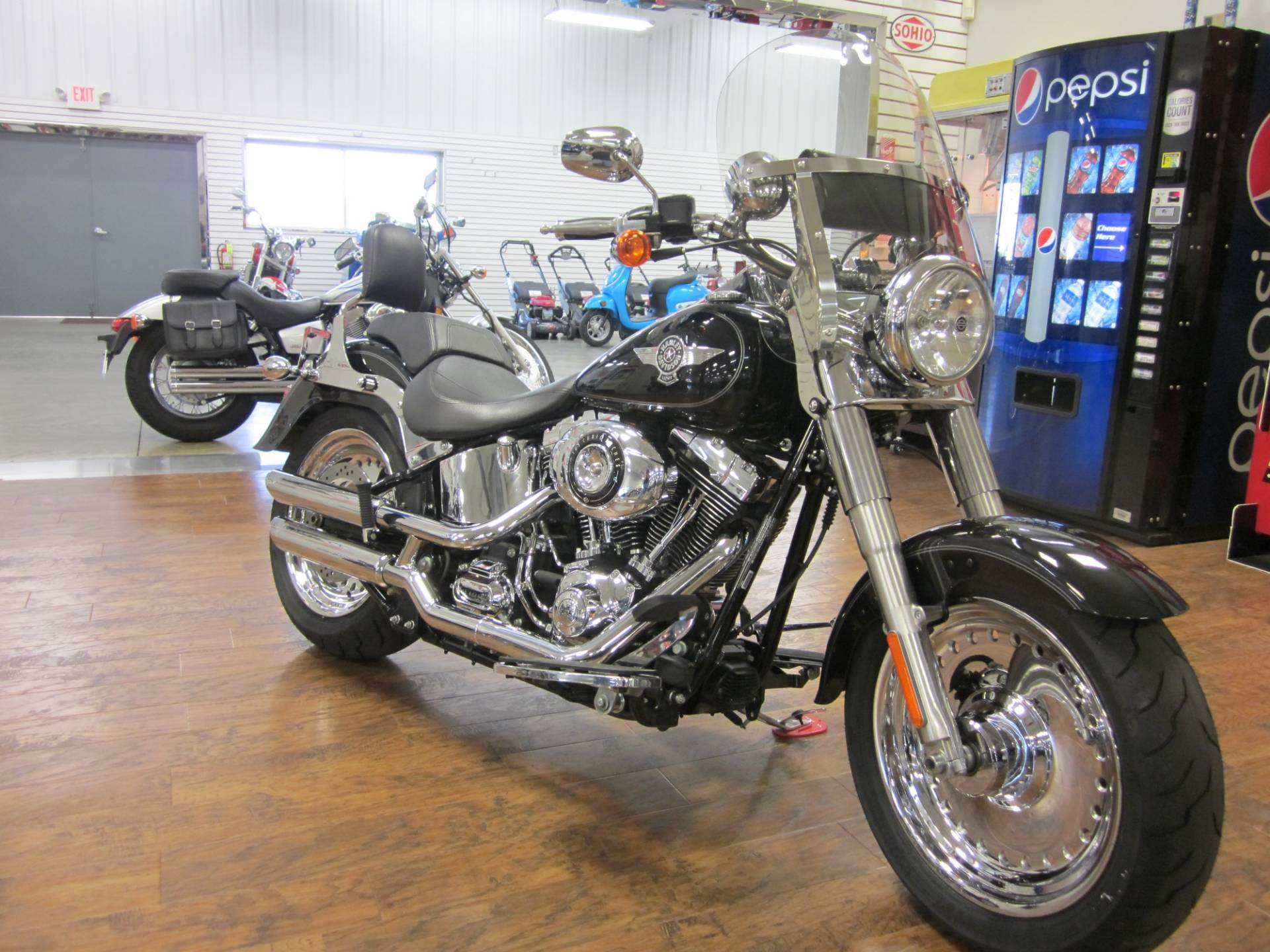 2012 Harley-Davidson Softail® Fat Boy® in Lima, Ohio - Photo 1