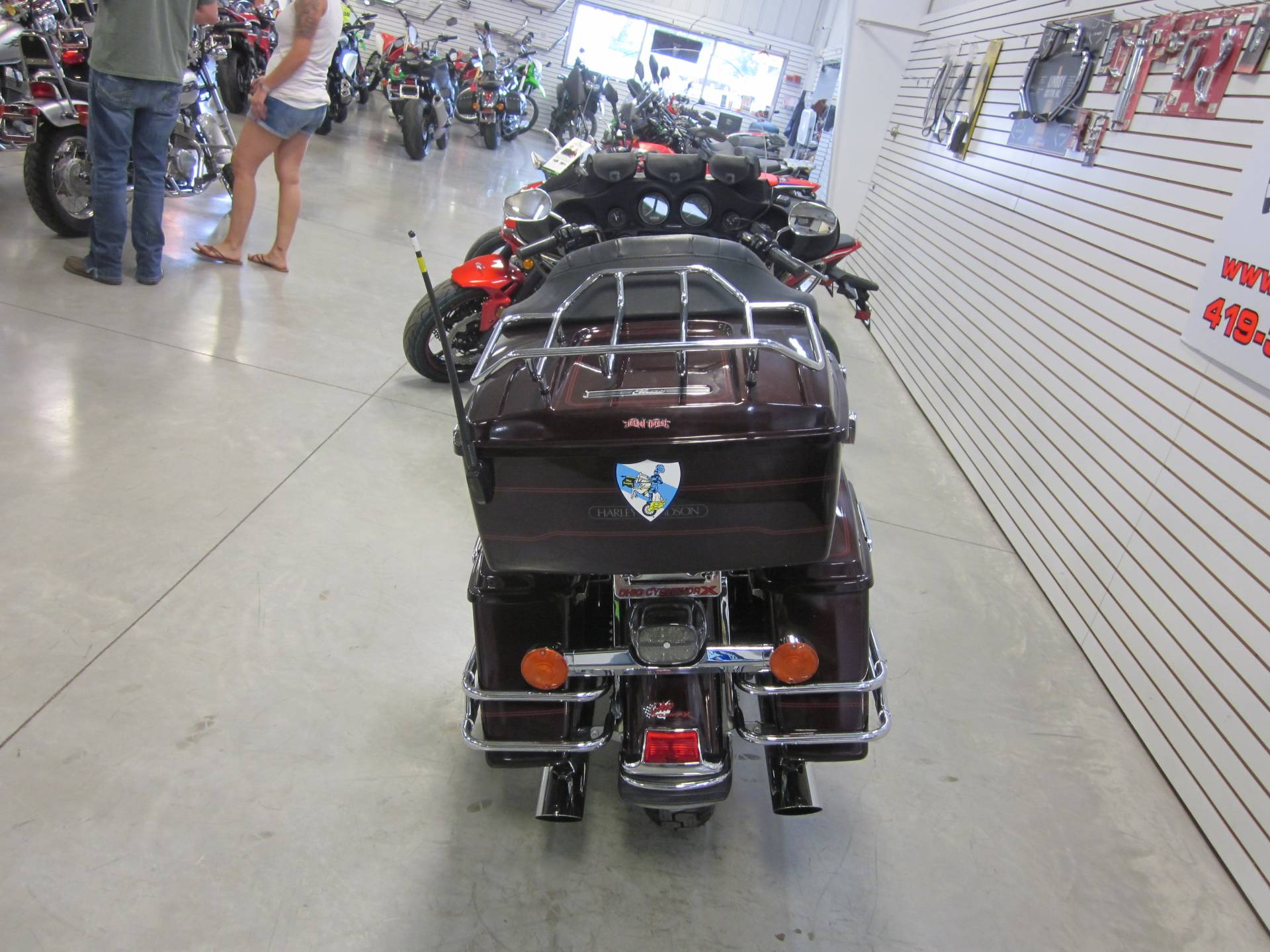 2005 Harley Davidson Ultra Glide Classic in Lima, Ohio - Photo 10