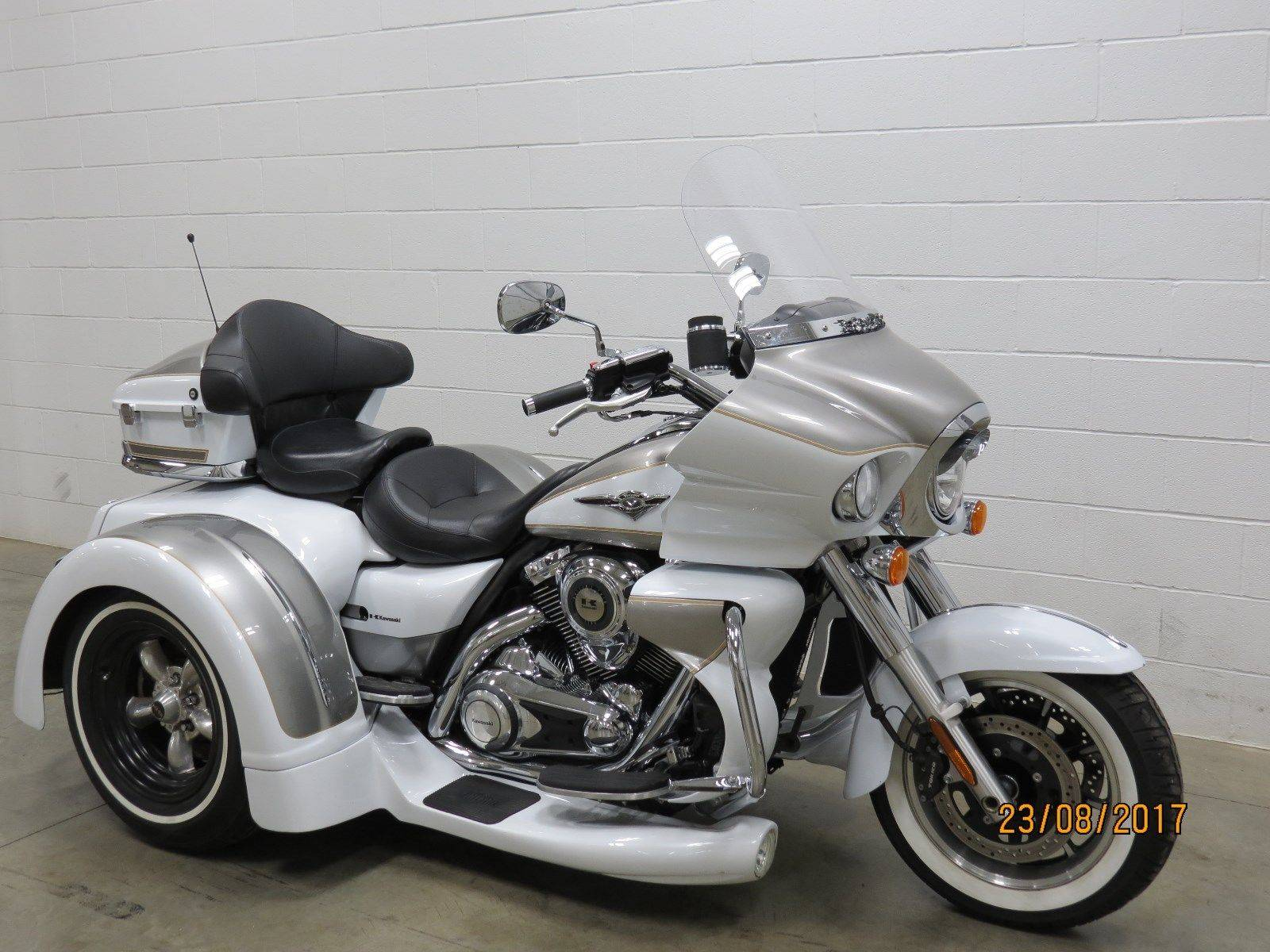 2013 kawasaki vn1700 voyager motor trike for sale lima oh for Used motor trike sale