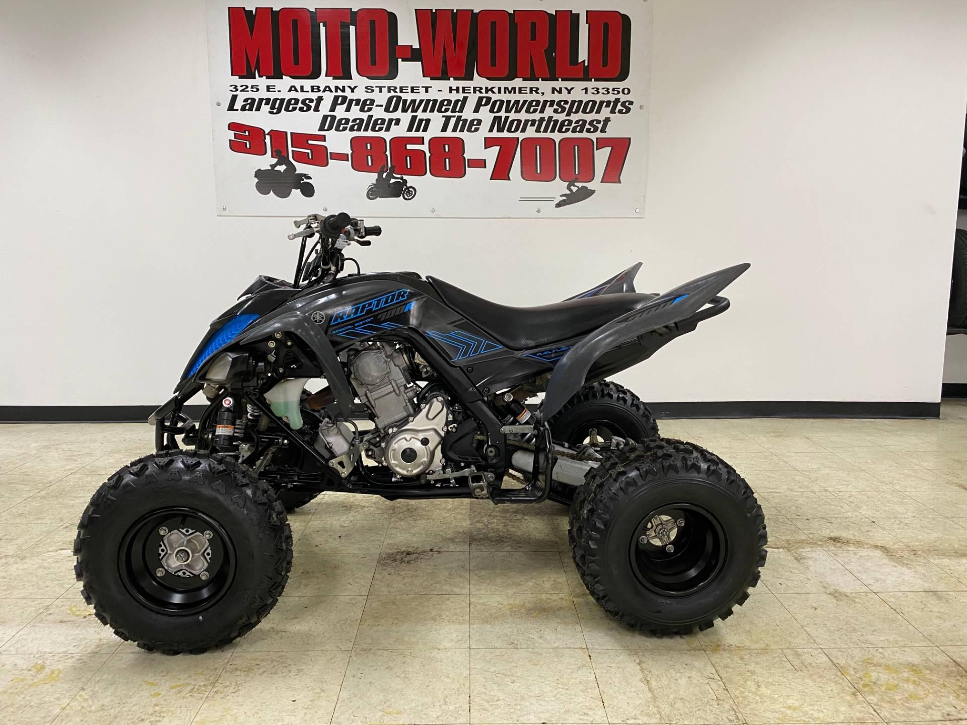 2017 Yamaha Raptor 700R SE for sale 241751
