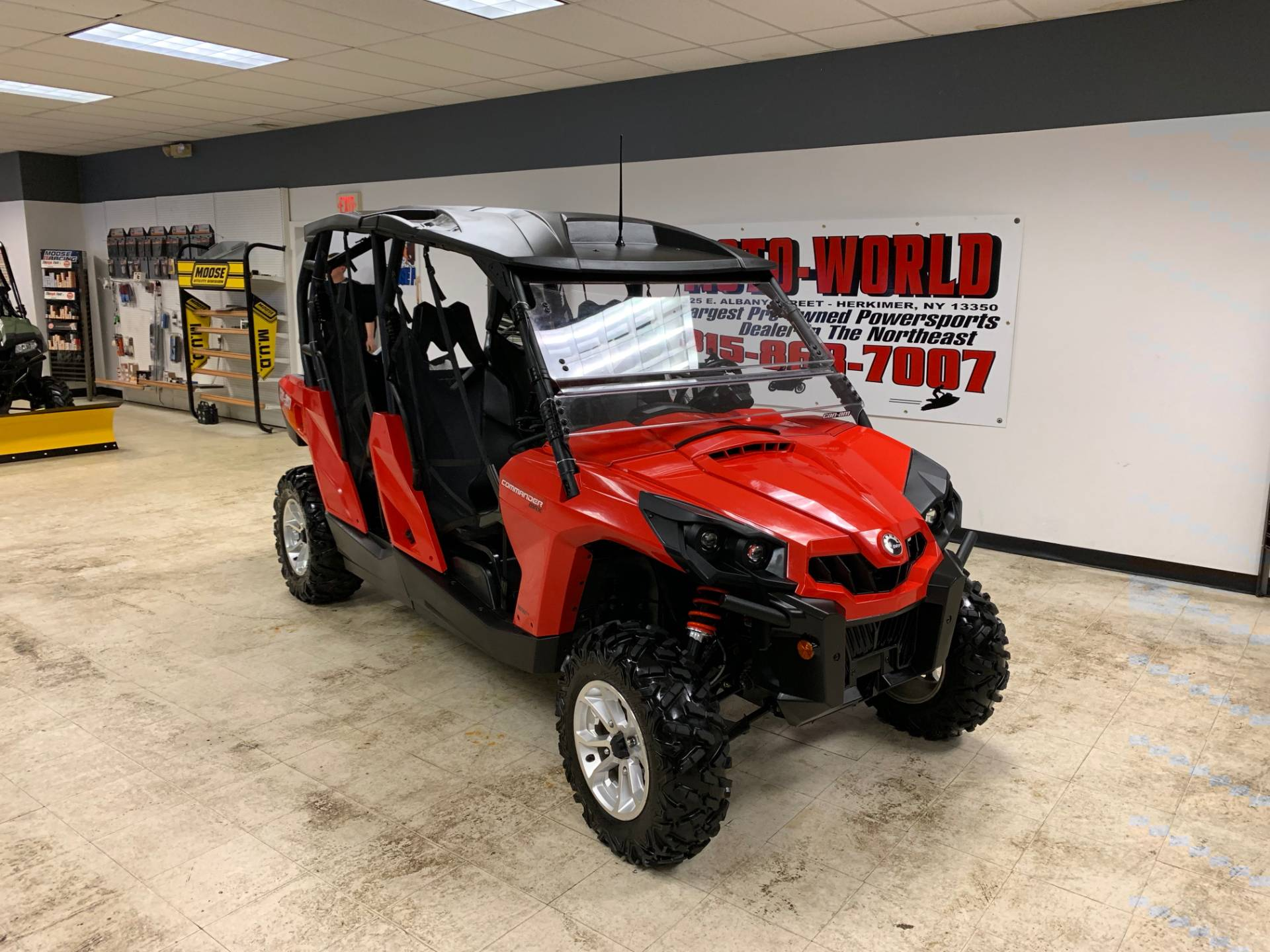 2016 Can-Am Commander MAX DPS 800R in Herkimer, New York