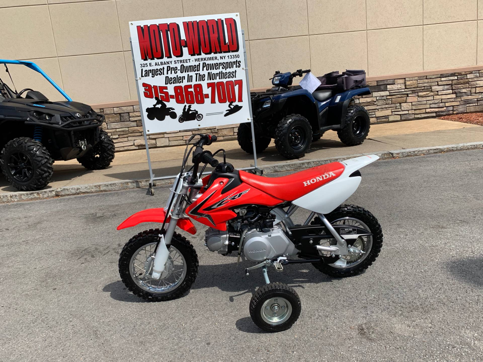 2018 Honda CRF50F in Herkimer, New York - Photo 3