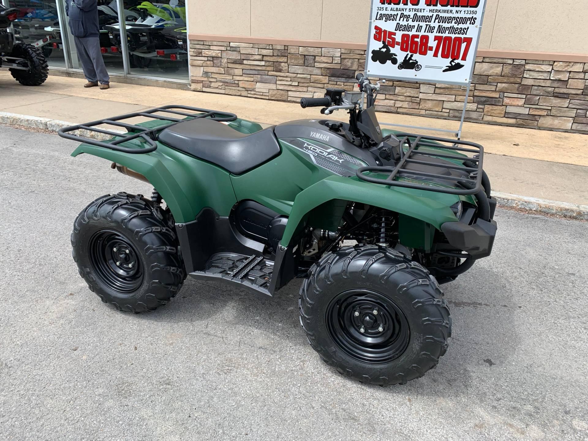 2018 Yamaha Kodiak 450 4