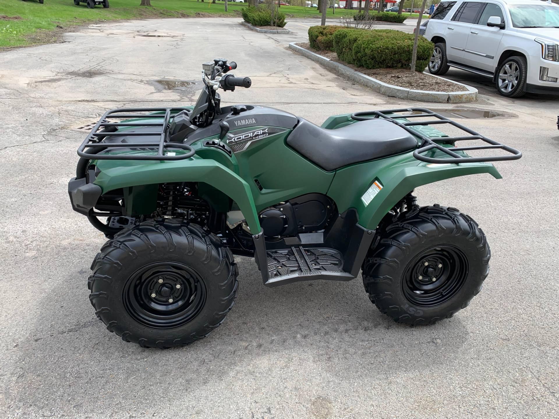 2018 Yamaha Kodiak 450 7