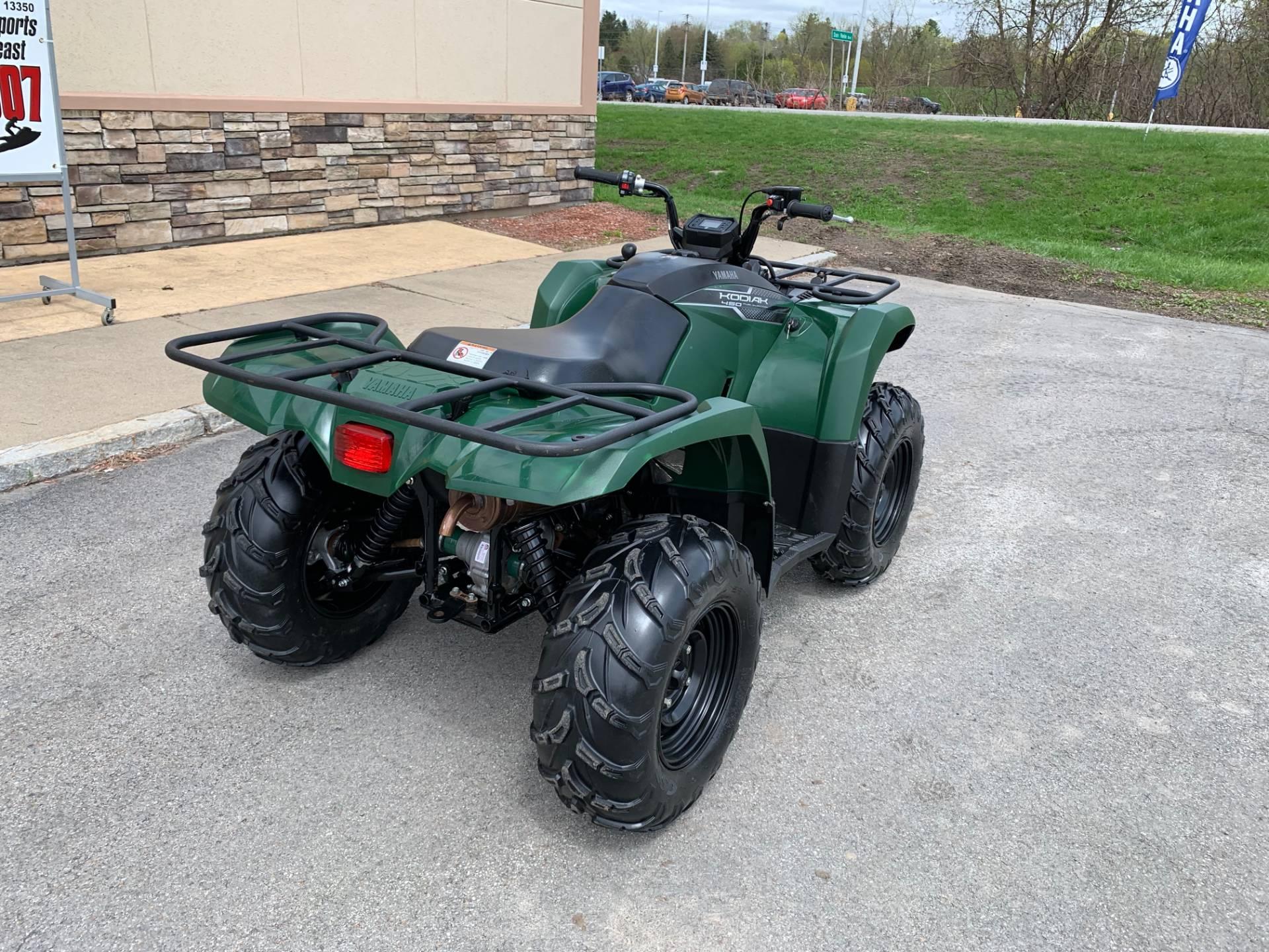 2018 Yamaha Kodiak 450 10