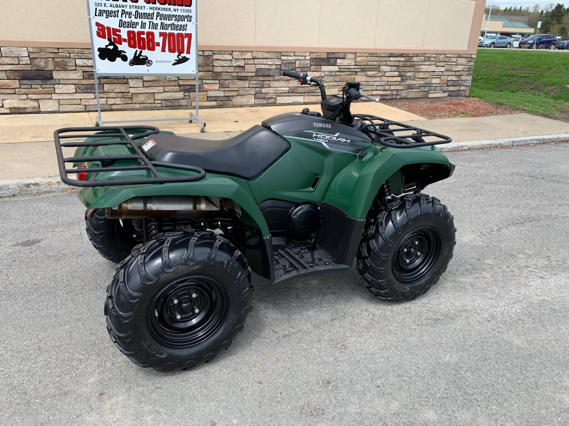2018 Yamaha Kodiak 450 11