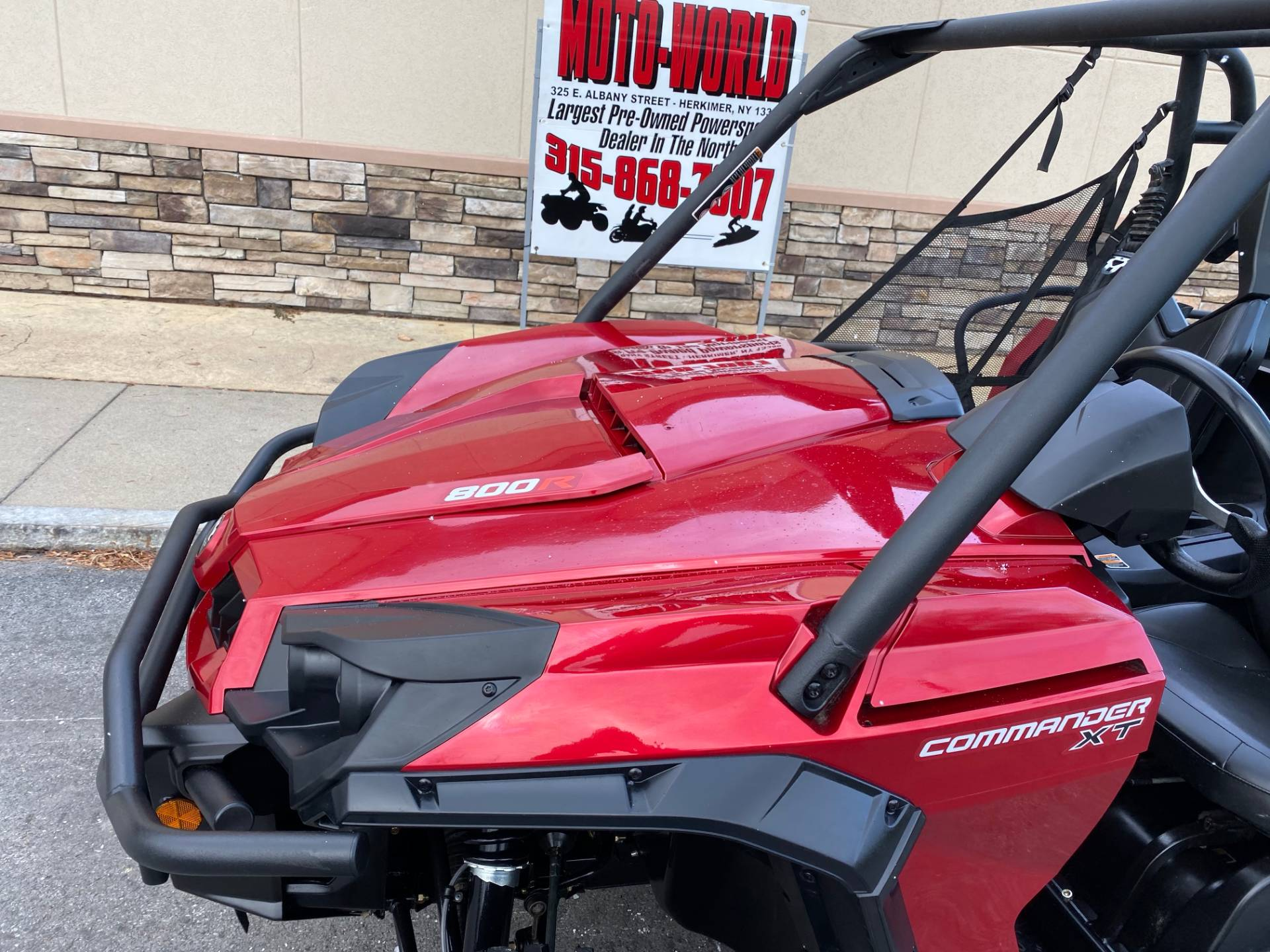 2018 Can-Am Commander XT 800R in Herkimer, New York - Photo 19