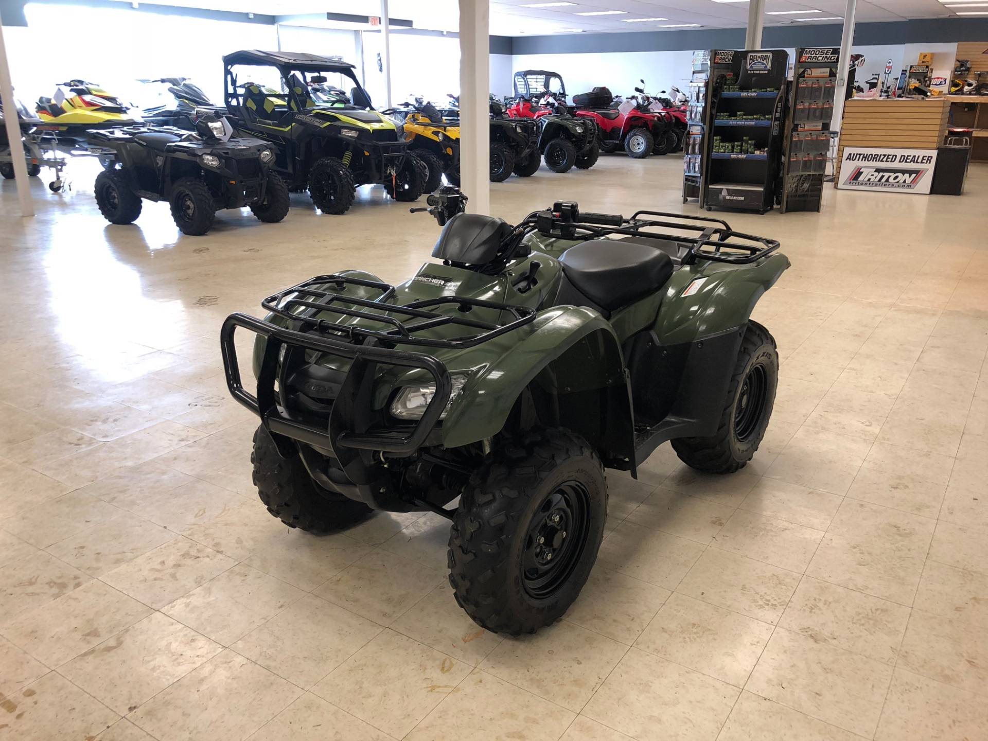 2013 Honda FourTrax® Rancher® AT with EPS in Herkimer, New York