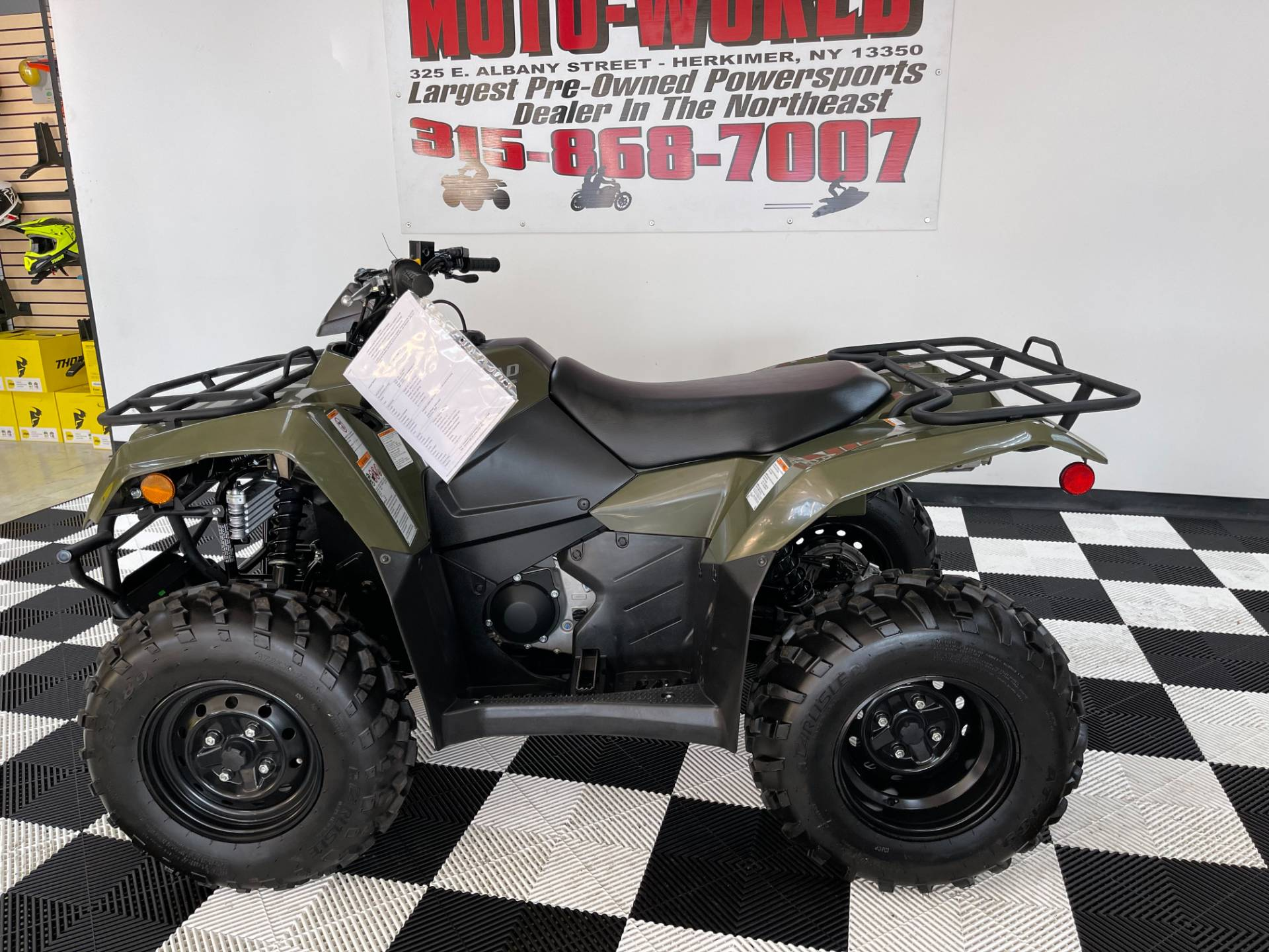 2019 Suzuki KingQuad 400ASi Camo in Herkimer, New York - Photo 2