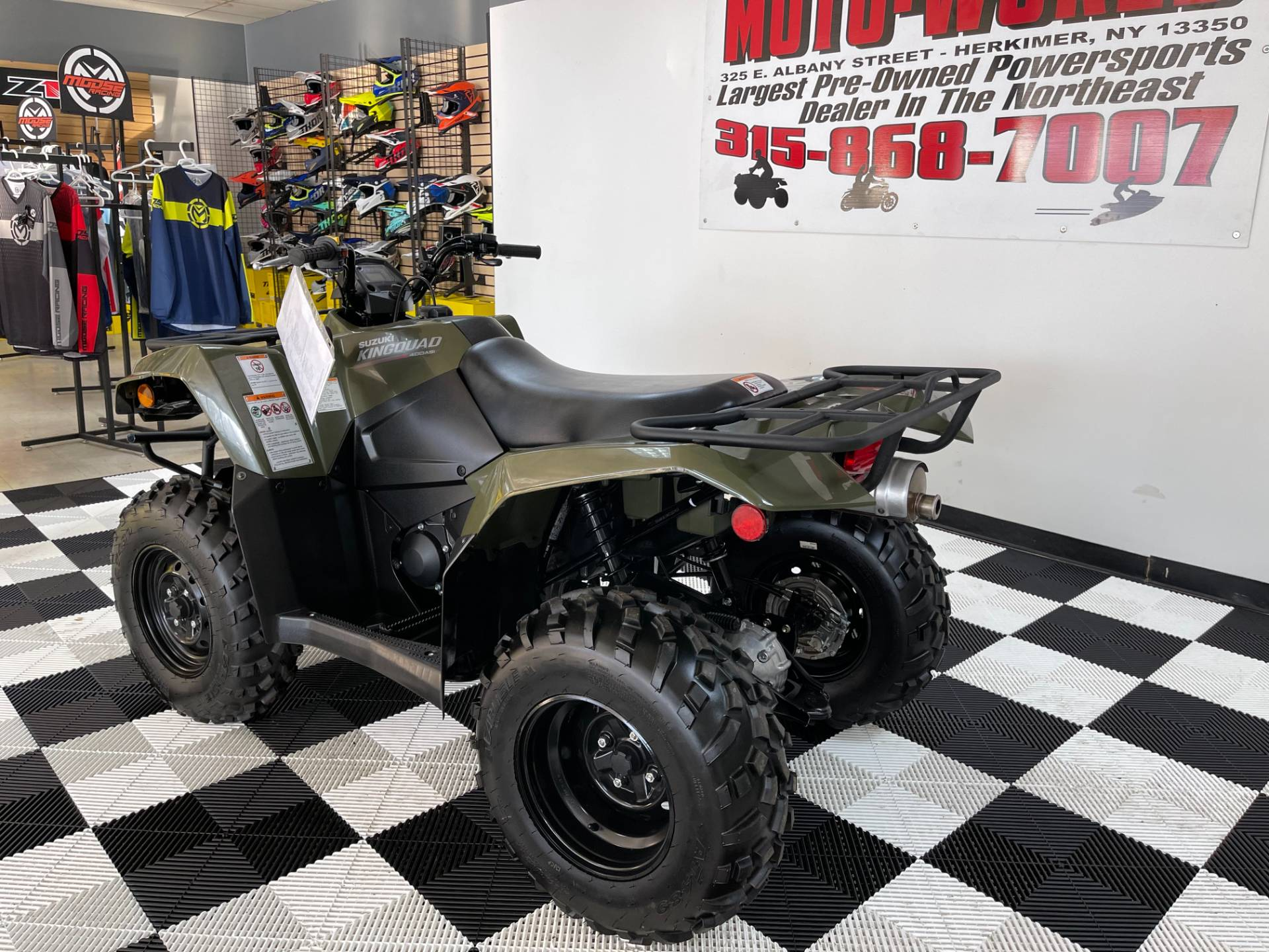 2019 Suzuki KingQuad 400ASi Camo in Herkimer, New York - Photo 5