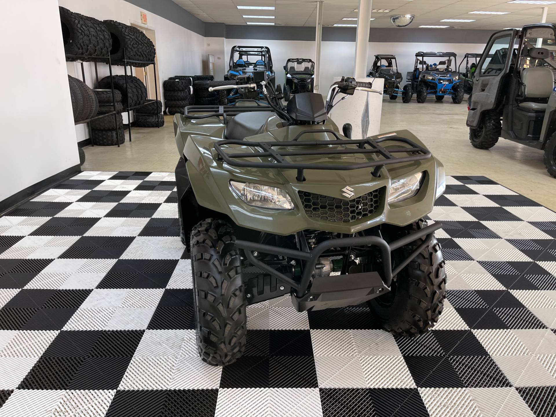 2019 Suzuki KingQuad 400ASi Camo in Herkimer, New York - Photo 9
