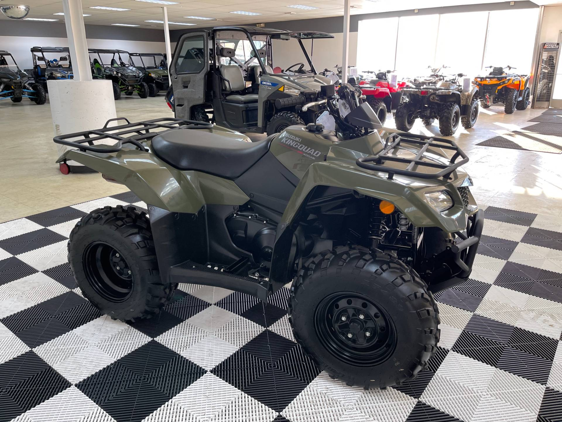 2019 Suzuki KingQuad 400ASi Camo in Herkimer, New York - Photo 10