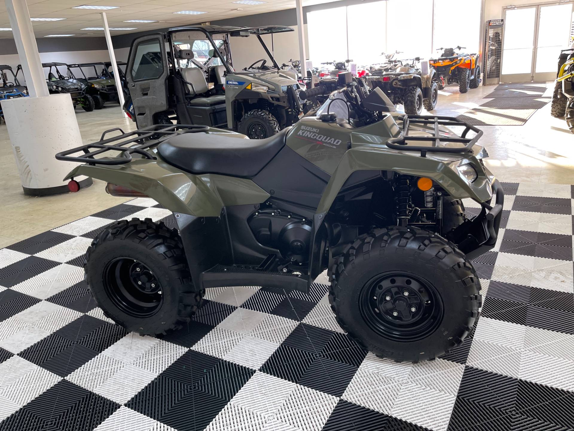 2019 Suzuki KingQuad 400ASi Camo in Herkimer, New York - Photo 12