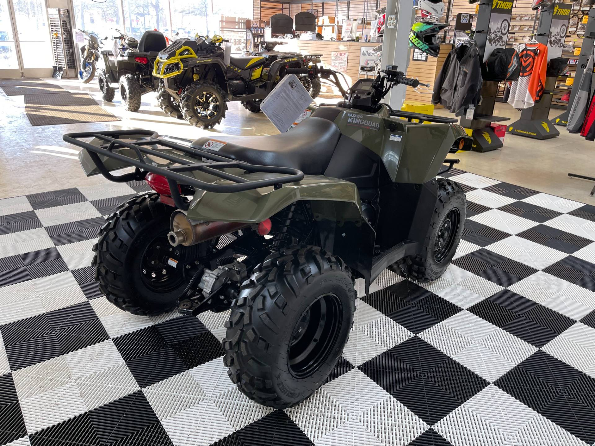 2019 Suzuki KingQuad 400ASi Camo in Herkimer, New York - Photo 14