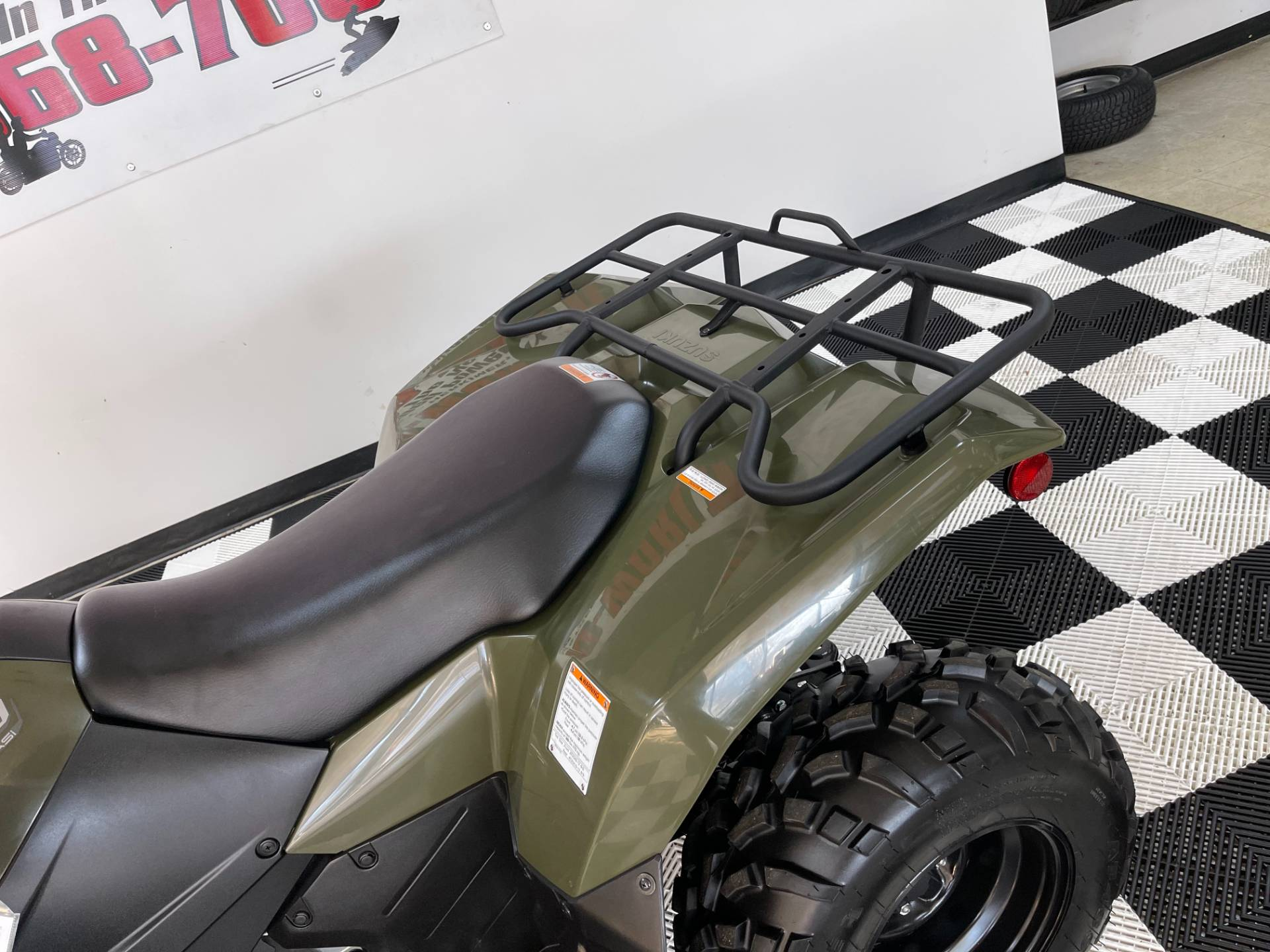 2019 Suzuki KingQuad 400ASi Camo in Herkimer, New York - Photo 21
